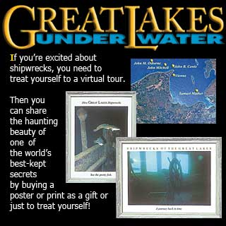 Ad for Great Lakes Underwater